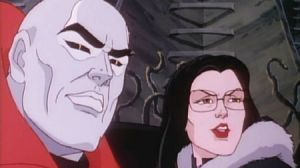 Destro and Baroness were a pretty cute couple. In a meglomaniacal kind of way.