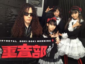BABYMETAL and Marty Friedman