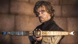 tyrion with crossbow